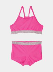 Ružové dievčenské dvojdielne plavky name it Zilka