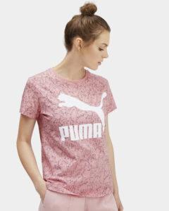 Puma Classics Tričko Ružová Béžová