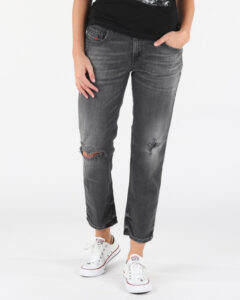 Diesel Belthy-Ankle-D Jeans Čierna