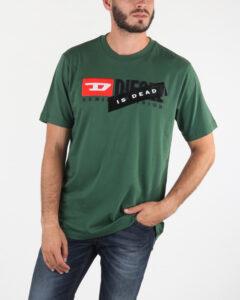 Diesel T-Just-Division Tričko Zelená