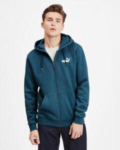 Puma Essentials+ Mikina Modrá Zelená
