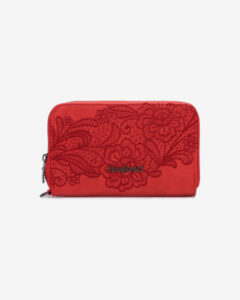 Desigual Melody Mini Peňaženka Červená