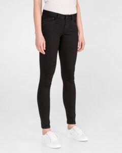 Pepe Jeans Pixie Jeans Čierna