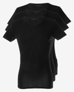 Tommy Hilfiger Spodné tričko 3 ks Čierna