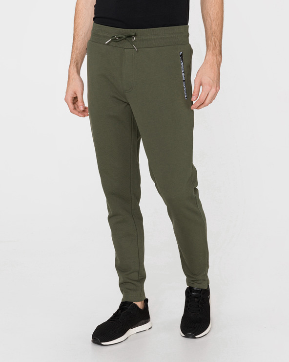 Calvin Klein Tepláky Zelená
