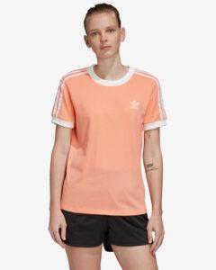 adidas Originals 3-Stripes Tričko Béžová Oranžová