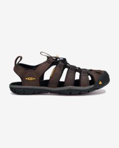 Keen Clearwater CNX Leather Sandále Hnedá