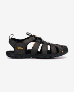 Keen Clearwater CNX Leather Sandále Čierna
