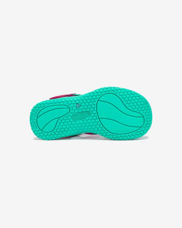 Keen Stingray Sandále detské Zelená Ružová