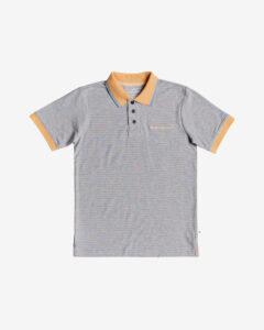 Quiksilver Kentin Polo tričko detské Šedá