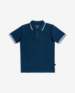 Quiksilver Kentin Polo tričko detské Modrá