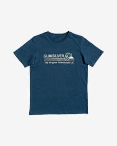 Quiksilver Stone Cold Classic Tričko detské Modrá