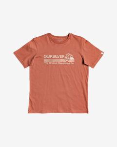 Quiksilver Stone Cold Classic Tričko detské Oranžová
