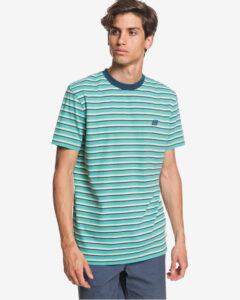 Quiksilver Tabira Tričko Modrá Zelená