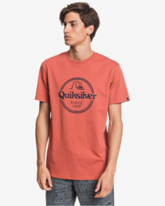 Quiksilver Words Remain Tričko Červená
