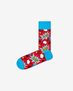 Happy Socks Dad Ponožky Modrá Červená
