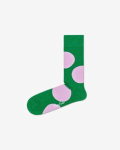 Happy Socks Jumbo Dot Ponožky Zelená