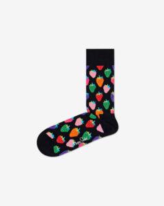Happy Socks Strawberry Ponožky Čierna Viacfarebná
