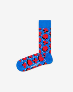 Happy Socks Comic Relief Ponožky Modrá Červená