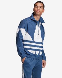 adidas Originals Big Trefoil Bunda Modrá