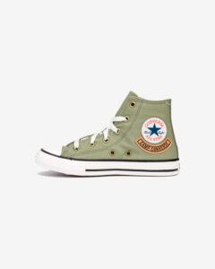 Converse Chuck Taylor All Star Pocket Hi Tenisky dětské Zelená