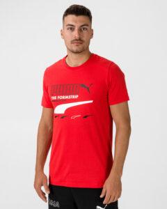 Puma Club Tričko Červená