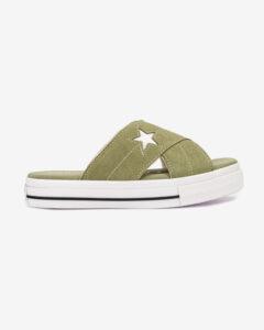 Converse One Star Sandále Zelená