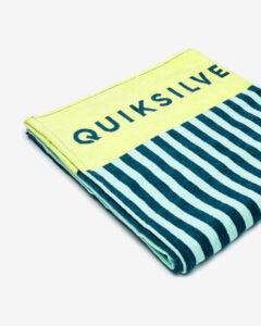 Quiksilver Osuška Modrá Žltá Viacfarebná
