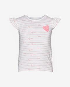 Guess Tričko detské Ružová Biela