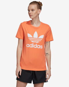adidas Originals Trefoil Tričko Oranžová