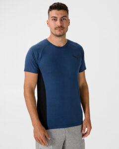 Puma Evostripe Tričko Modrá