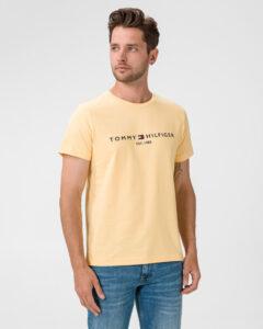 Tommy Hilfiger Tričko Žltá
