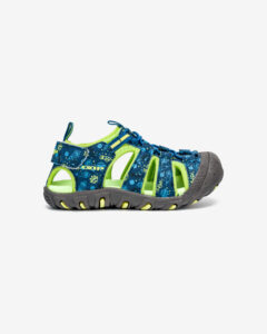 Loap Dopey Sandále detské Modrá Zelená