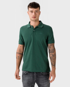 Geox Sustainable Polo tričko Zelená