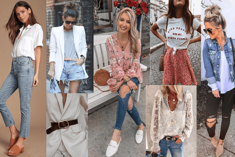 Ukážka trendy outfitov na jar 2020