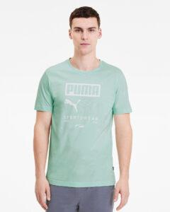 Puma Box Tričko Zelená