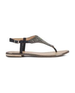 Geox Sozy Plus Sandále Čierna
