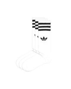 adidas Originals Solid Crew Ponožky 3 páry Biela
