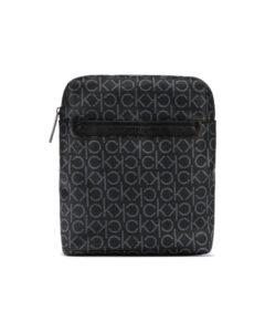 Calvin Klein Mono Flat Cross body bag Čierna