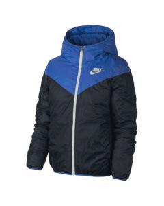 Nike Windrunner Bunda Čierna Modrá