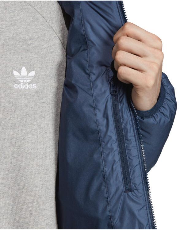 adidas Originals Bunda Modrá
