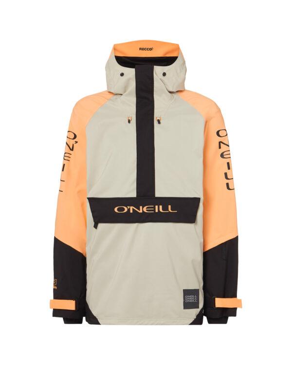 O'Neill Original Bunda Biela Oranžová