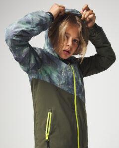 O'Neill Halite Ski Bunda detská Zelená