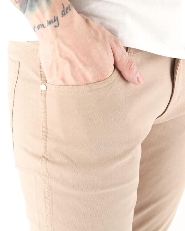 Wrangler Larston Jeans Hnedá Béžová