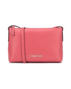 Calvin Klein Neat Cross body bag Červená Ružová