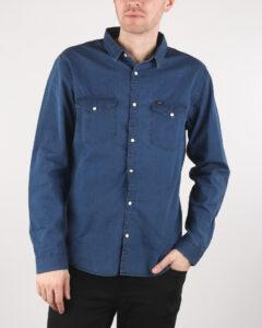 Lee Western Košeľa Modrá