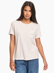 Svetloružové tričko Roxy
