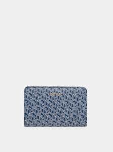 Modrá dámska vzorovaná peňaženka Tommy Hilfiger