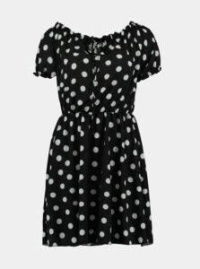 Čierne bodkované šaty Haily´s Molly