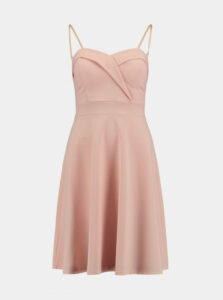 Svetloružové šaty Haily´s Roxanne